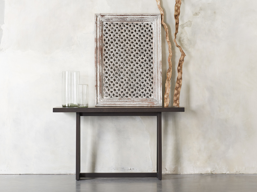 "Acero 56"" Console Table, slide 1 of 7"