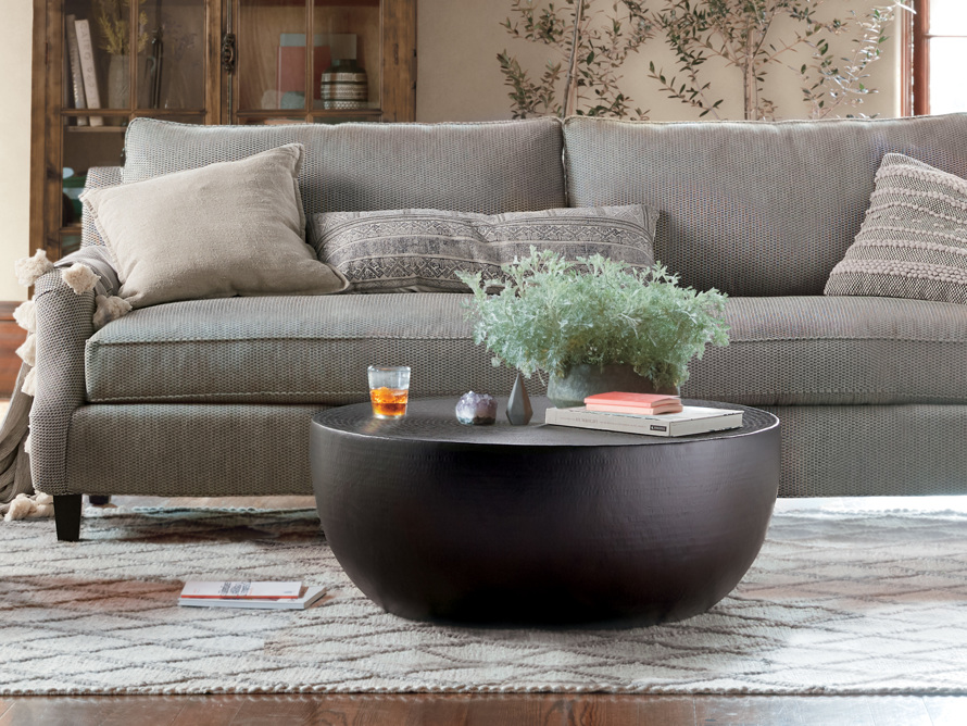 Radial Drum Coffee Table