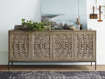 "Mandara 71"" Media Console in Jepara Natural"
