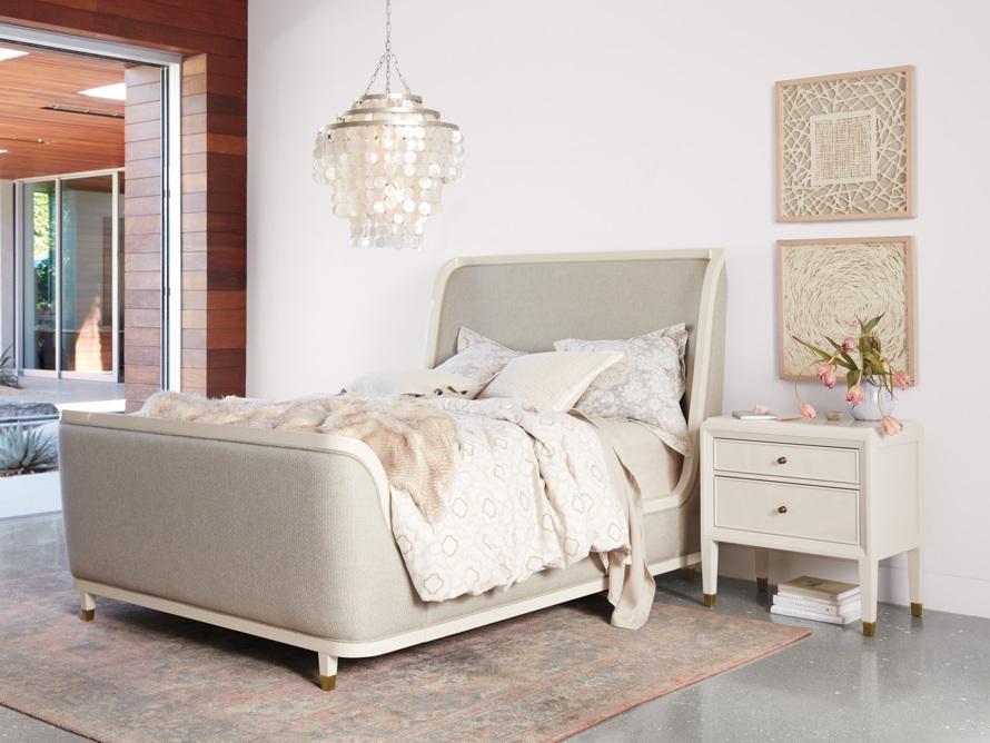 """Lenox 60"""" King Bed in Dove"""