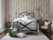 """St Lucia 63"""" Twin Iron Bed In Rust"""