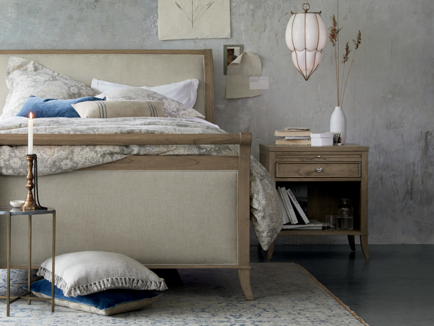 Pearson Nightstand in Basa Natural, slide 1 of 7