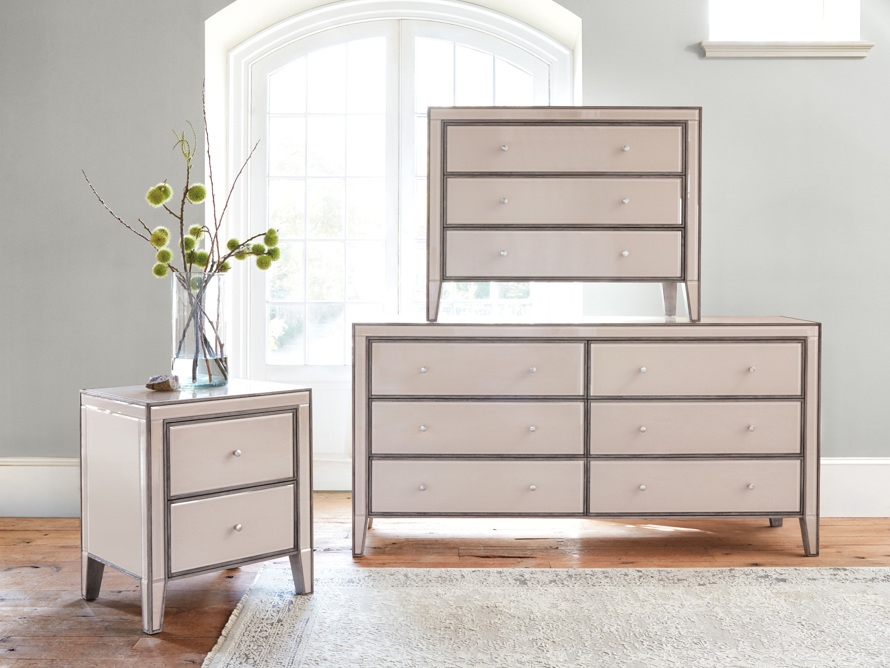 "Reese 24"" 2 Drawer Nightstand in Galleria Blush, slide 7 of 8"