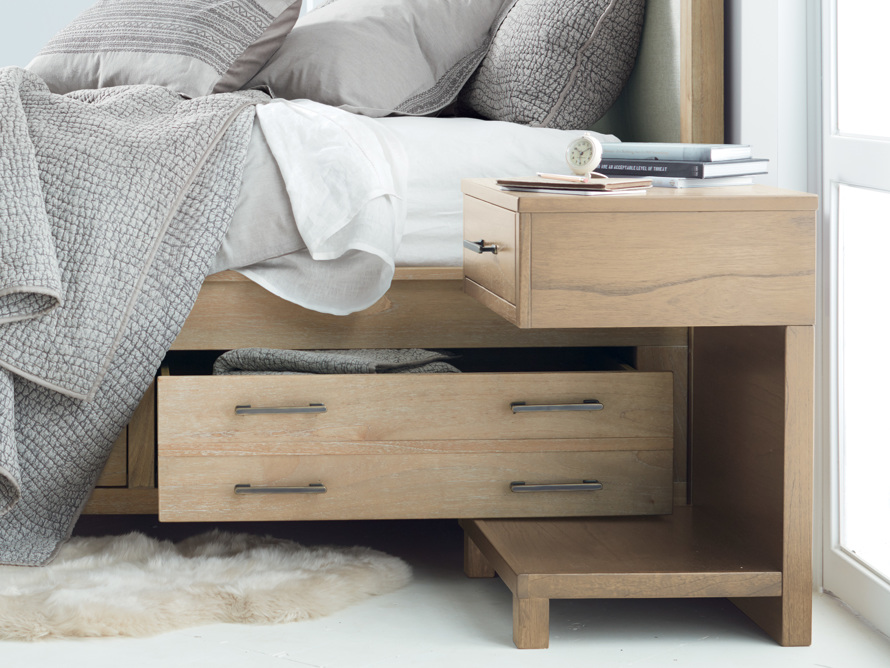 Tremont Storage Nightstand In Dry Branch Natural, slide 1 of 8