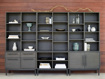 """Sullivan 113"""" Modular Triple Bookcase File"""