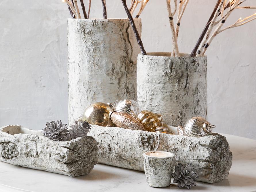 "15.75"" Birch vase"