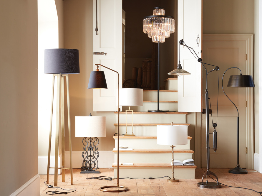 Leyland Floor Lamp in Bronze, slide 5 of 5