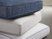 """Hamptons Outdoor 31"""" Ottoman Replacement Cushion"""