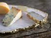 White Quartz Cheese Knife Set