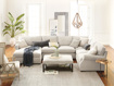 """Landsbury Upholstered 159"""" Three Piece Large Chaise Sectional"""