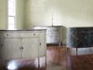 Sofia Bell'Arte Demilune Cabinet in Uccello Grigio