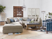 """Pavo Upholstered 132"""" Three Piece Right Arm Sectional"""