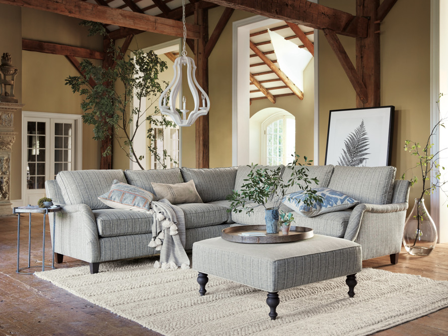 """Paxton Upholstered 104"""" Sectional"""