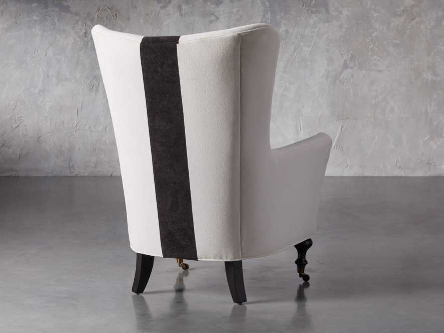 """Rio Upholstered 35"""" Chair with Contrast Stripe, slide 4 of 7"""