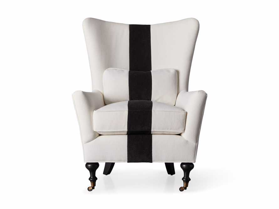 """Rio Upholstered 35"""" Chair with Contrast Stripe, slide 6 of 7"""