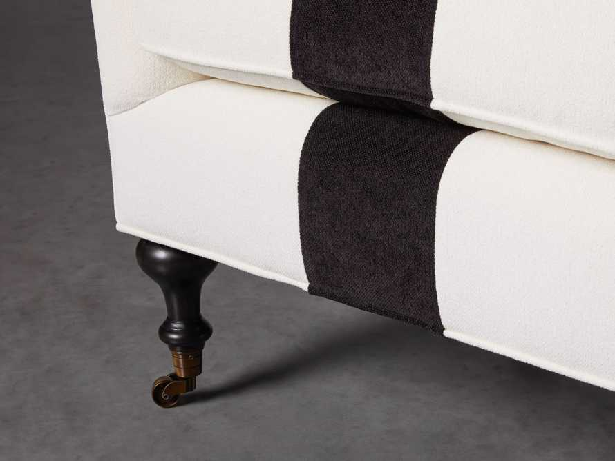 """Rio Upholstered 35"""" Chair with Contrast Stripe, slide 5 of 7"""