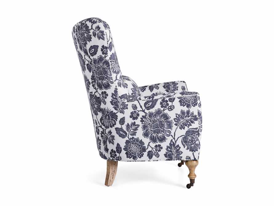 "Rio Upholstered 35"" Chair in Raquel Slate"