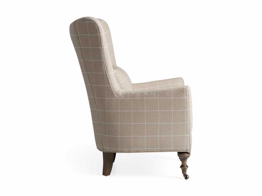 "Rio Upholstered 35"" Chair in Window Linen, slide 11 of 11"