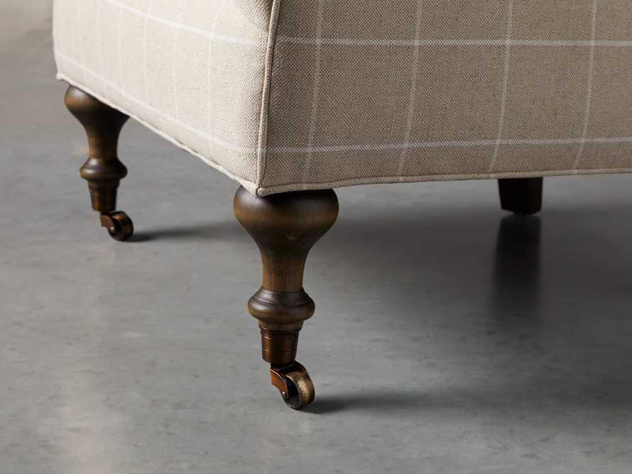 "Rio Upholstered 35"" Chair in Window Linen, slide 7 of 11"