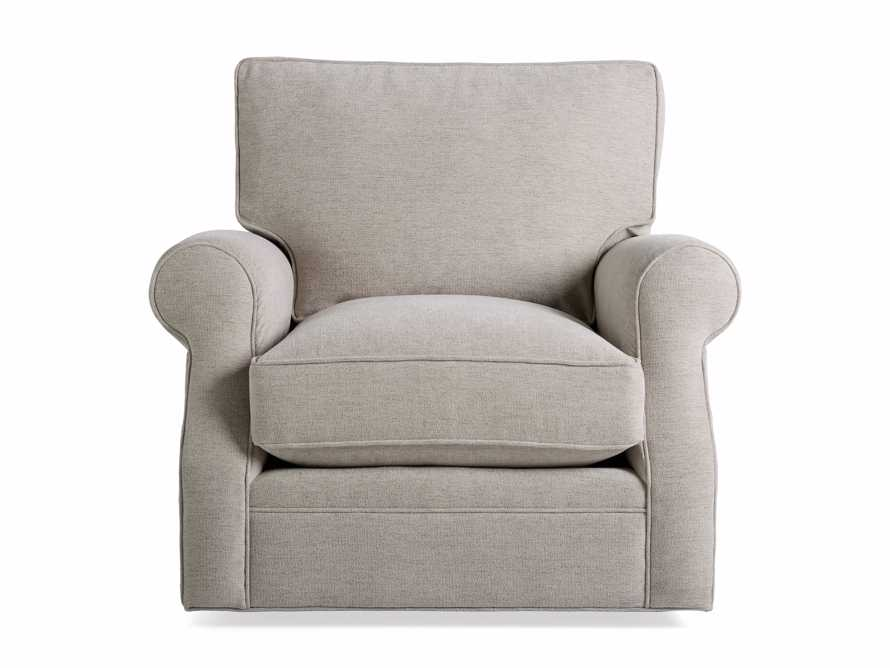 "Landsbury Upholstered 41"" Swivel Chair, slide 7 of 8"