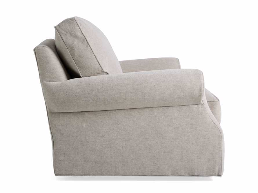 "Landsbury Upholstered 41"" Swivel Chair, slide 8 of 8"