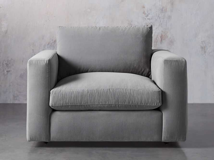 """Miles Upholstered 49"""" Chair"""