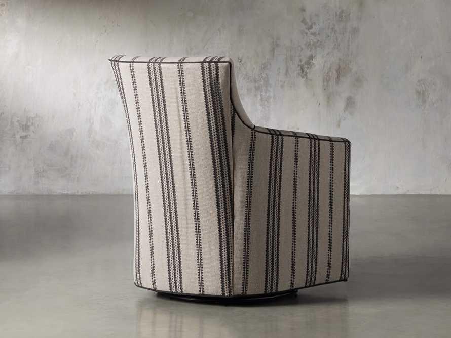 """Juniper Upholstered 28"""" Swivel Chair"""