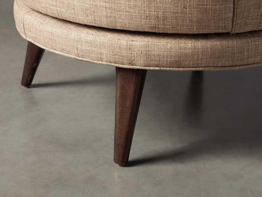 """Rita Upholstered 32"""" Swivel Chair"""