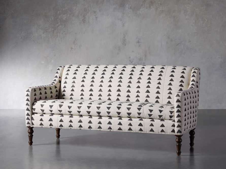 "Fenwick Upholstered 74"" Settee, slide 3 of 8"