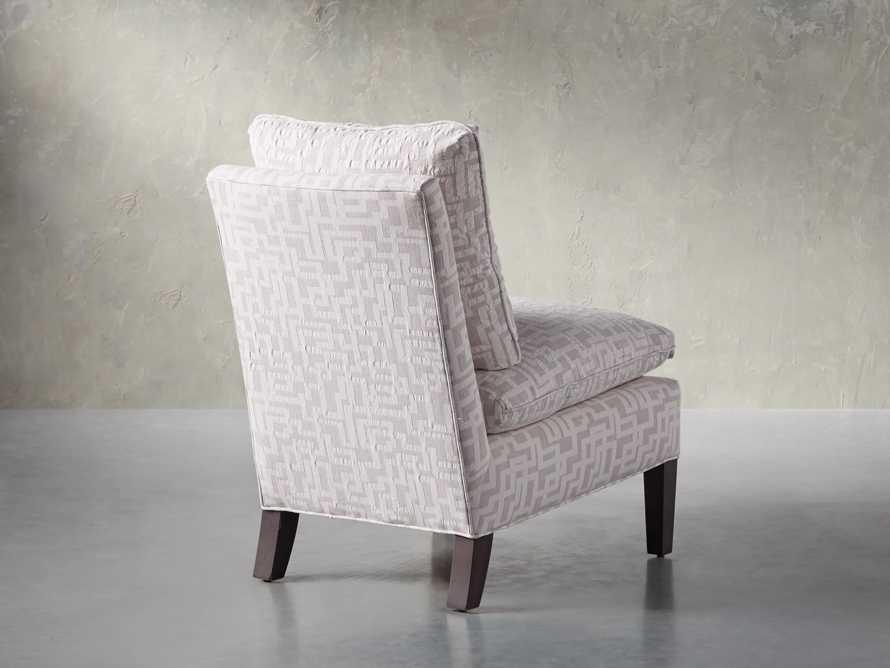 "Belle Upholstered 23"" Armless Chair"