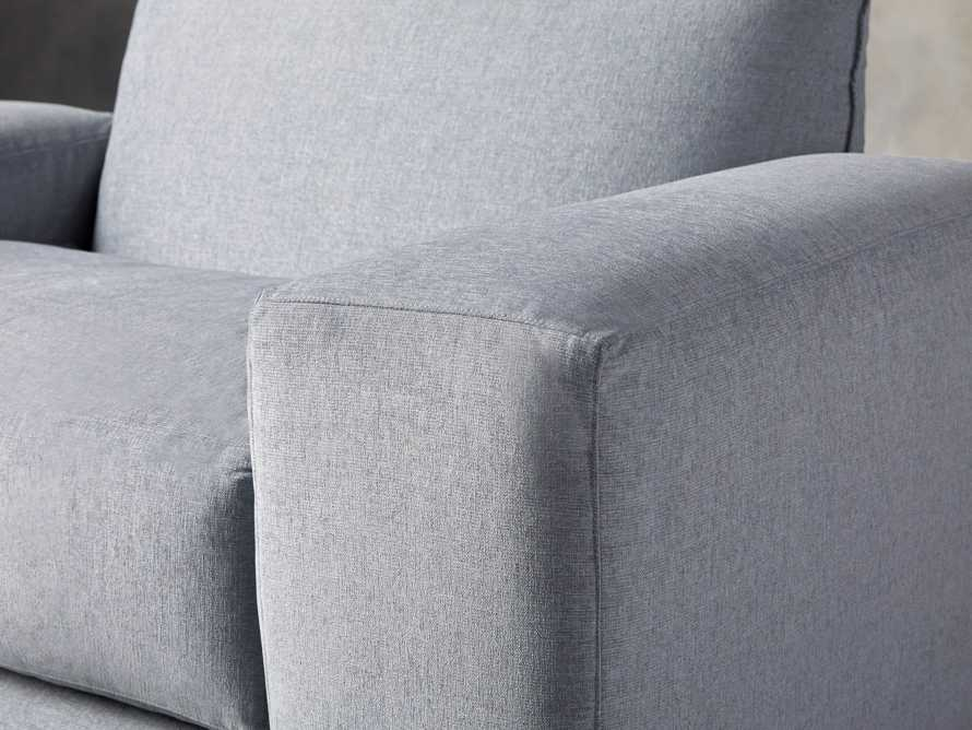 """Wyndham Upholstered 66"""" Chair in Stanton Frost, slide 5 of 8"""