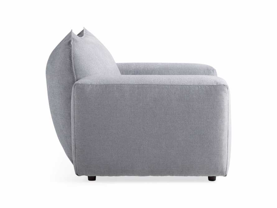"""Wyndham Upholstered 66"""" Chair in Stanton Frost, slide 8 of 8"""