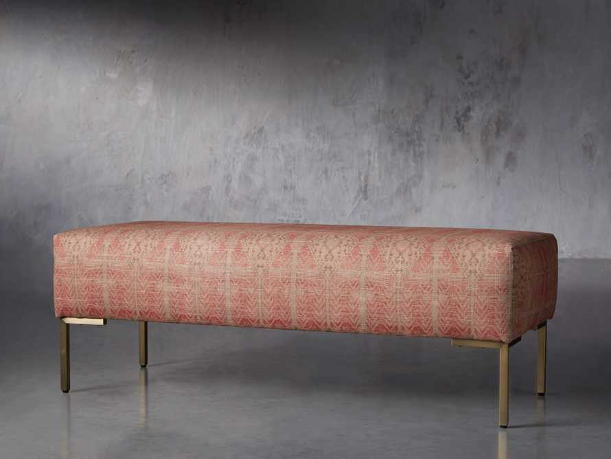 "Tilton Upholstered 48"" Bench, slide 2 of 8"