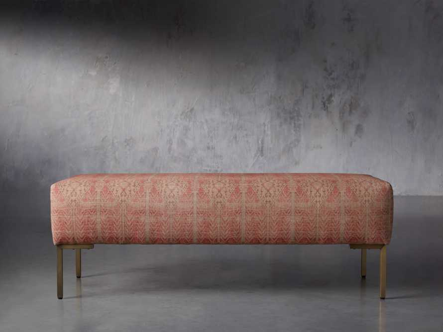"Tilton Upholstered 48"" Bench, slide 1 of 8"
