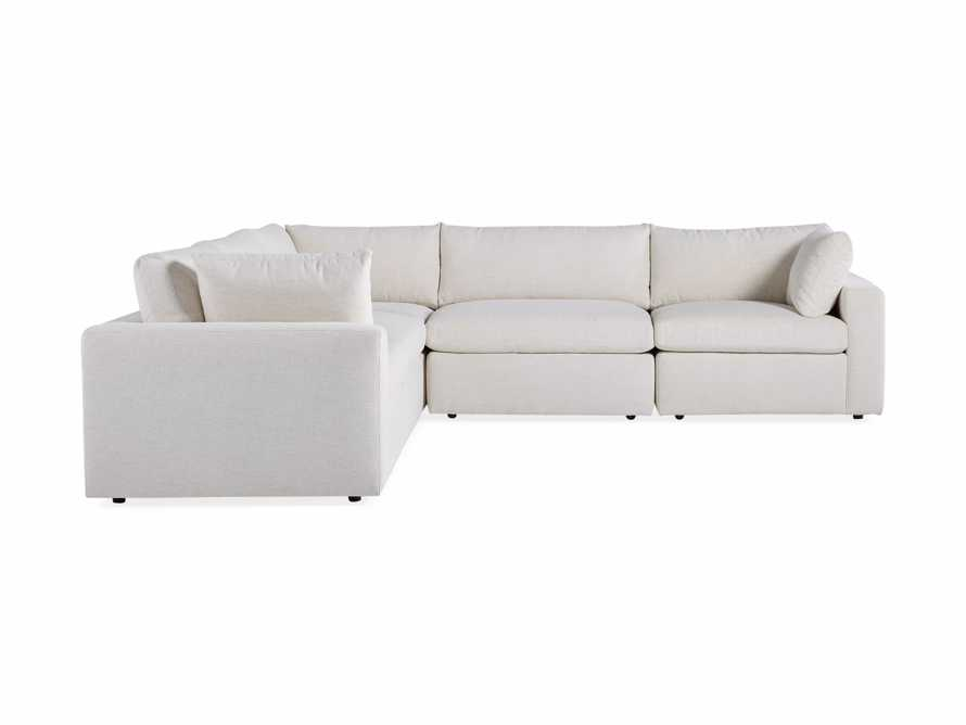 Beale Upholstered Five Piece Corner Sectional, slide 7 of 7