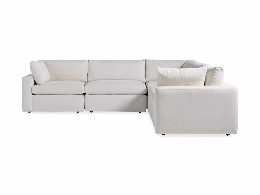Beale Upholstered Five Piece Corner Sectional, slide 6 of 7