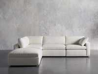 Beale Upholstered Right Arm Five Piece Sectional