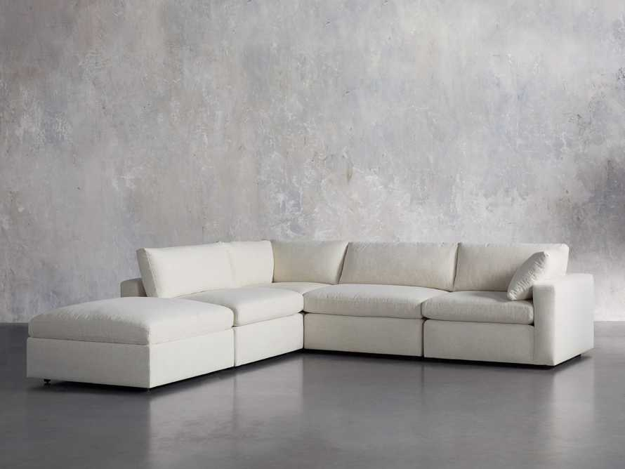 Beale Upholstered Right Arm Five Piece Sectional, slide 3 of 10