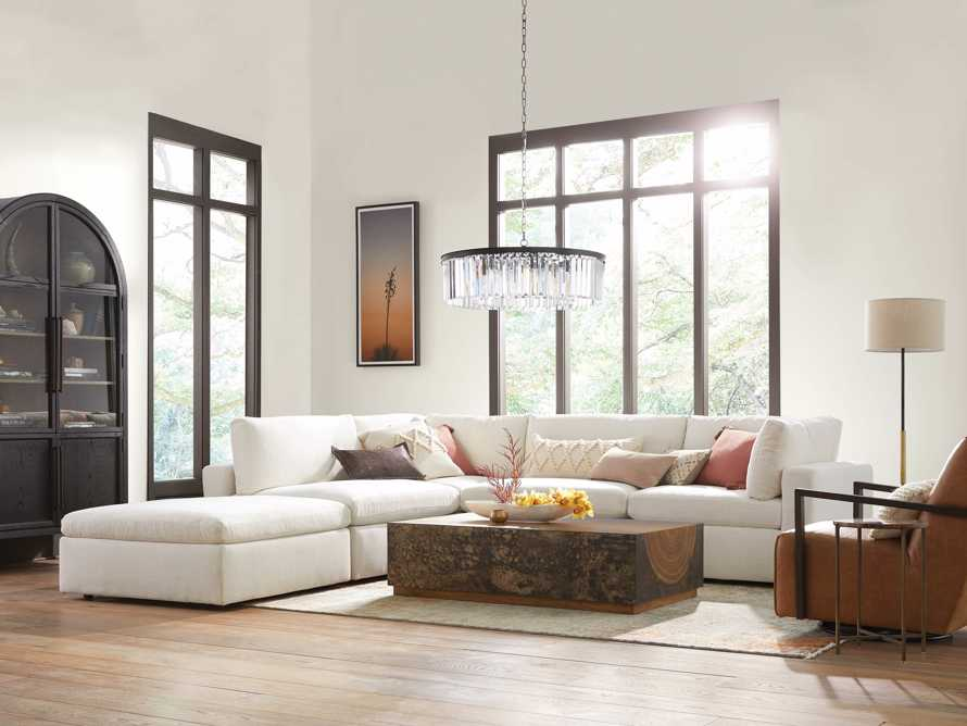 Beale Upholstered Right Arm Five Piece Sectional, slide 7 of 10