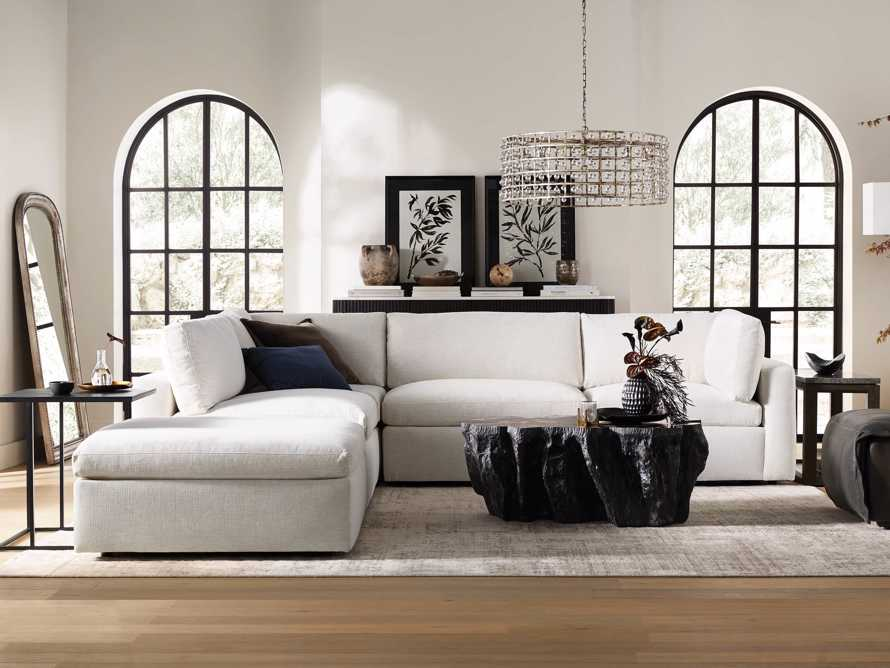 Beale Upholstered Right Arm Five Piece Sectional, slide 1 of 10