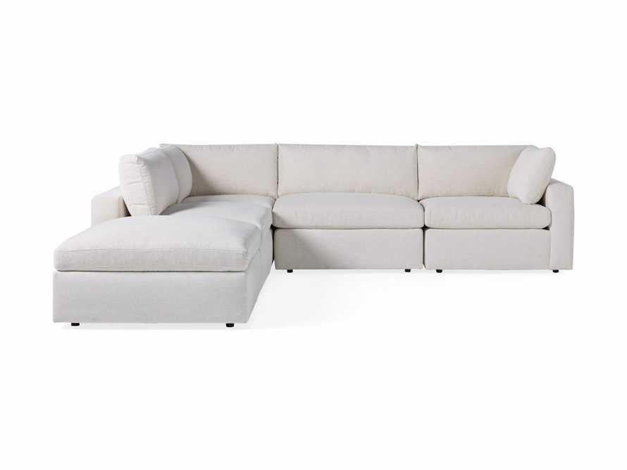 Beale Upholstered Right Arm Five Piece Sectional, slide 10 of 11