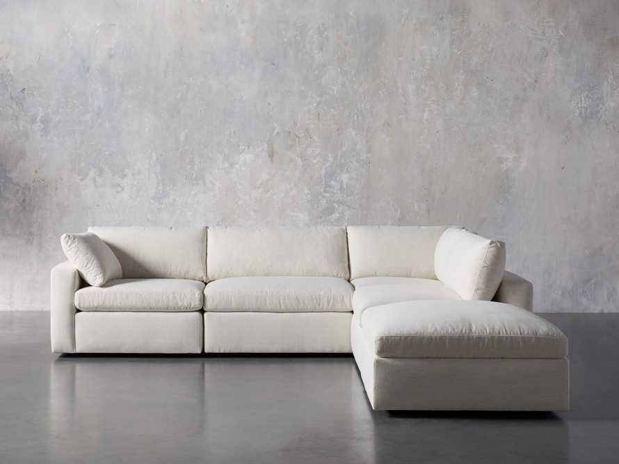 Beale Upholstered Left Arm Five Piece Sectional, slide 2 of 9
