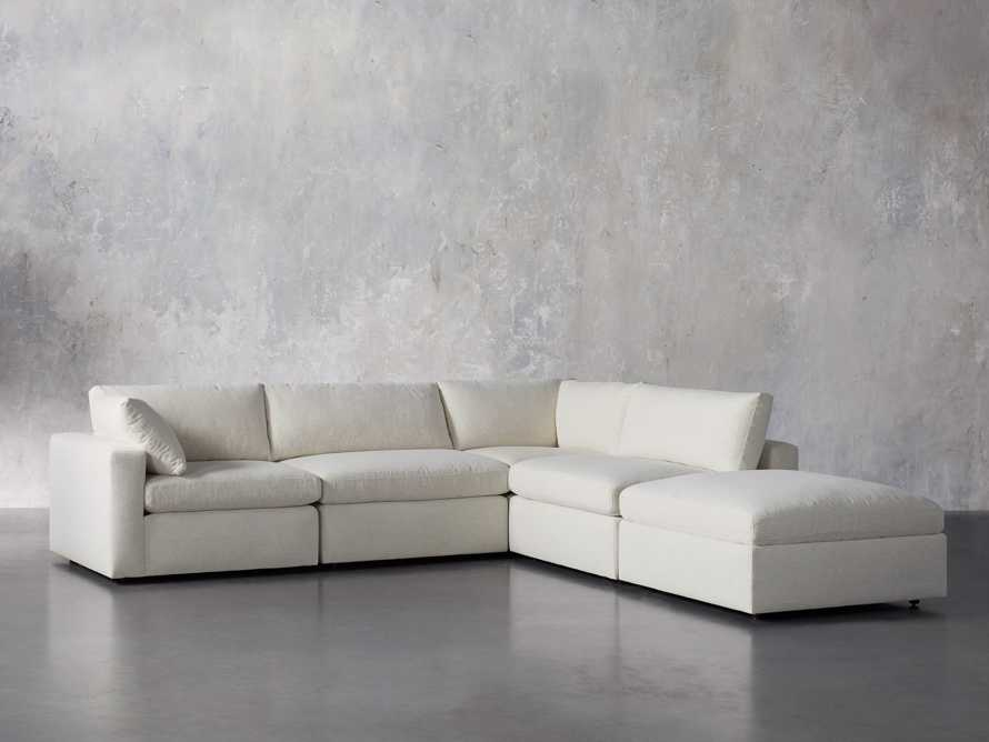 Beale Upholstered Left Arm Five Piece Sectional, slide 3 of 9