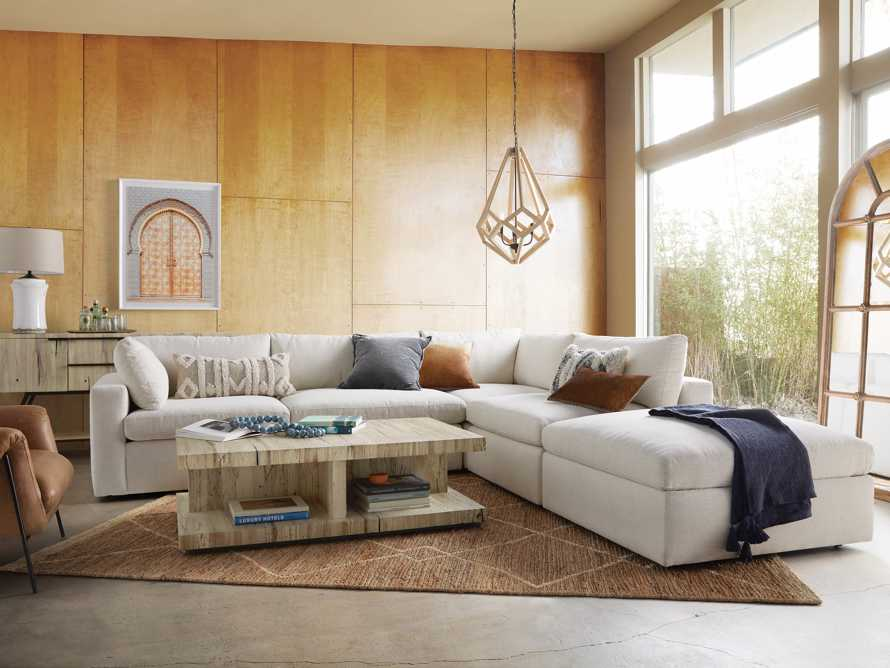 Beale Upholstered Left Arm Five Piece Sectional, slide 1 of 9