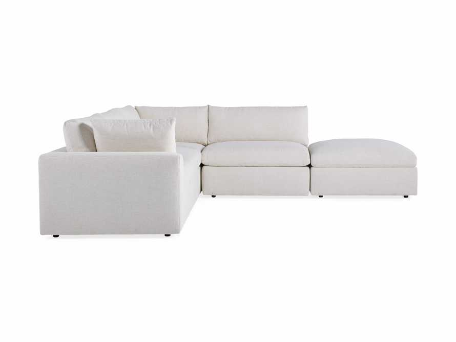 Beale Upholstered Left Arm Five Piece Sectional, slide 9 of 9