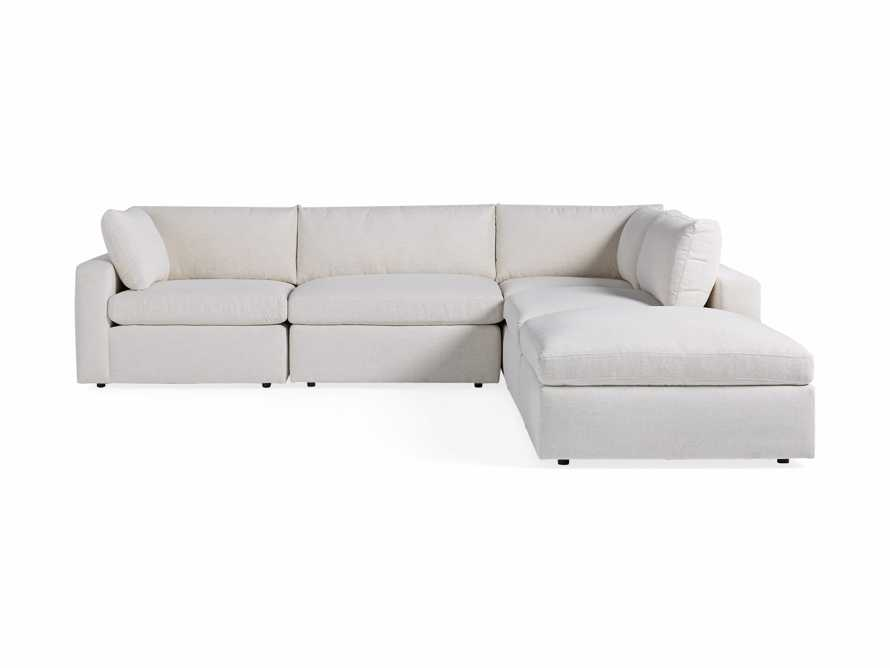 Beale Upholstered Left Arm Five Piece Sectional