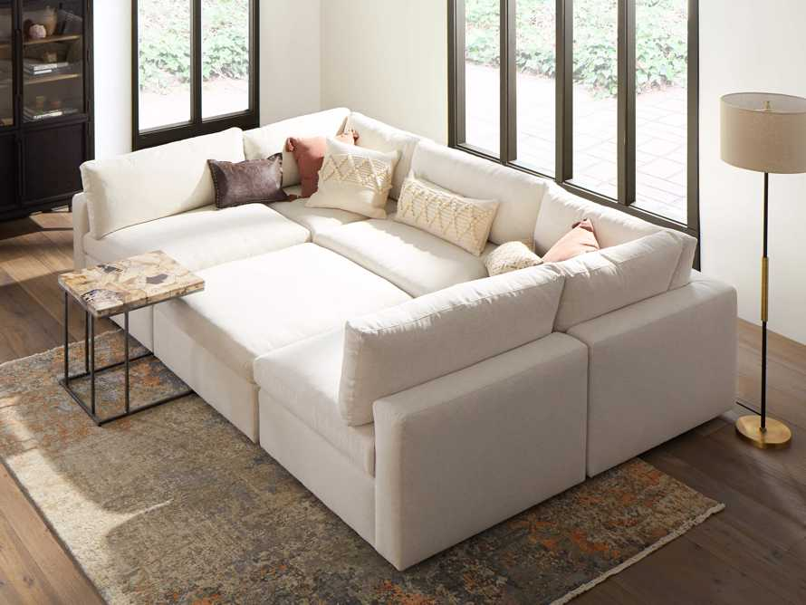 Beale Upholstered Six Piece Pit Sectional, slide 1 of 1