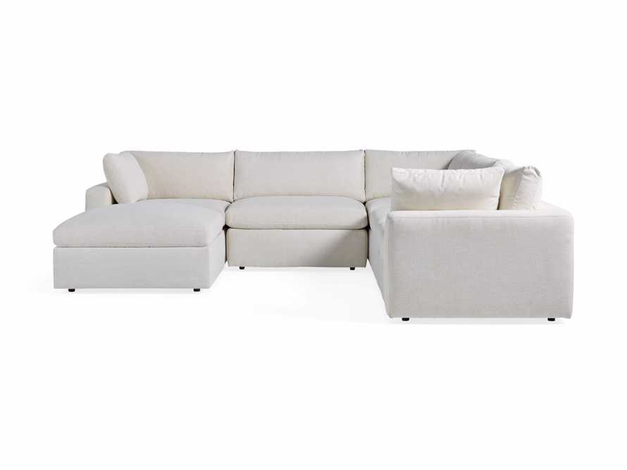 Beale Upholstered Six Piece Sectional, slide 6 of 7