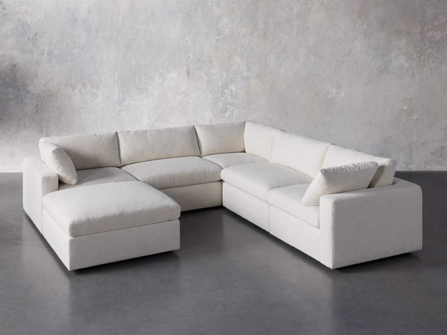Beale Upholstered Six Piece Sectional, slide 2 of 7