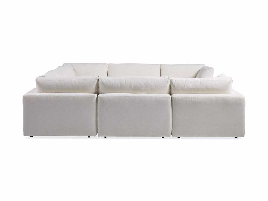 Beale Upholstered Seven Piece U-Shaped Sectional, slide 7 of 7